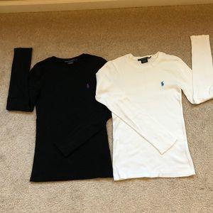 Bundle two Ralph Lauren Sport T-shirts.